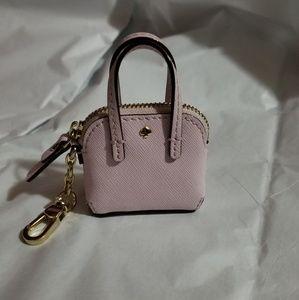 Kate spade mini keychain handbag
